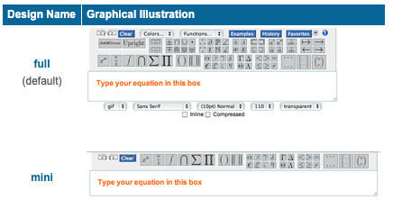 =Adapt the editor to your calculation needs